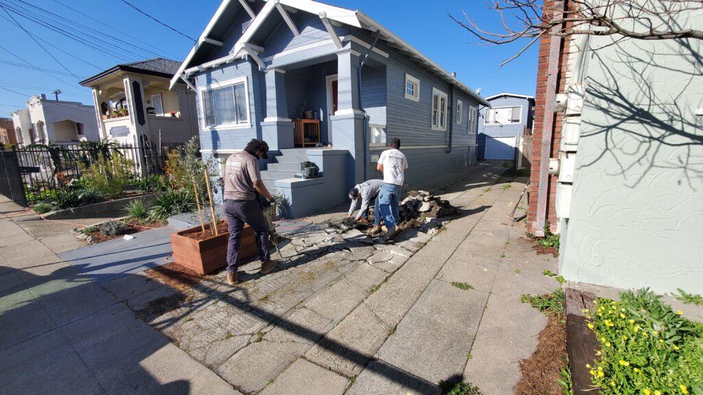 Oakland Concrete services All Access 510-701-4400