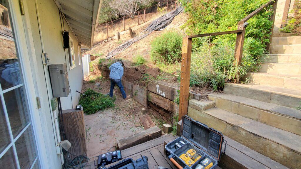 Why do wood retaining walls fail