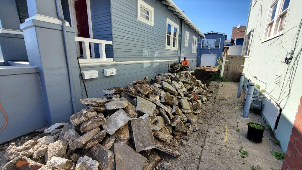 Concrete Demo Oakland All Access 510-701-4400