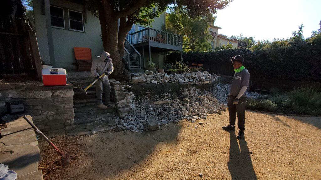 Berkeley Concrete Retaining Wall