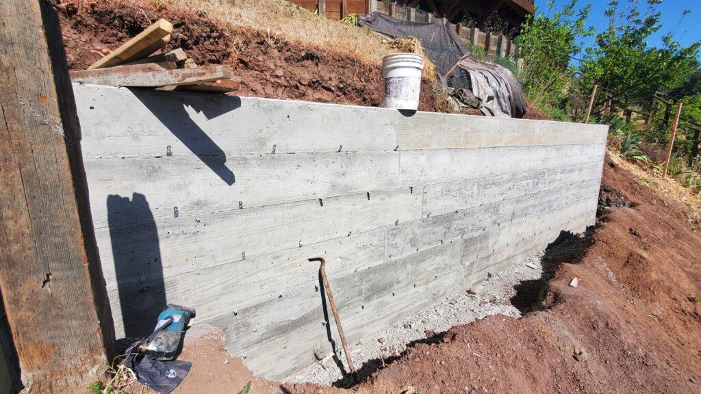 Concrete Board Finish San MAteo