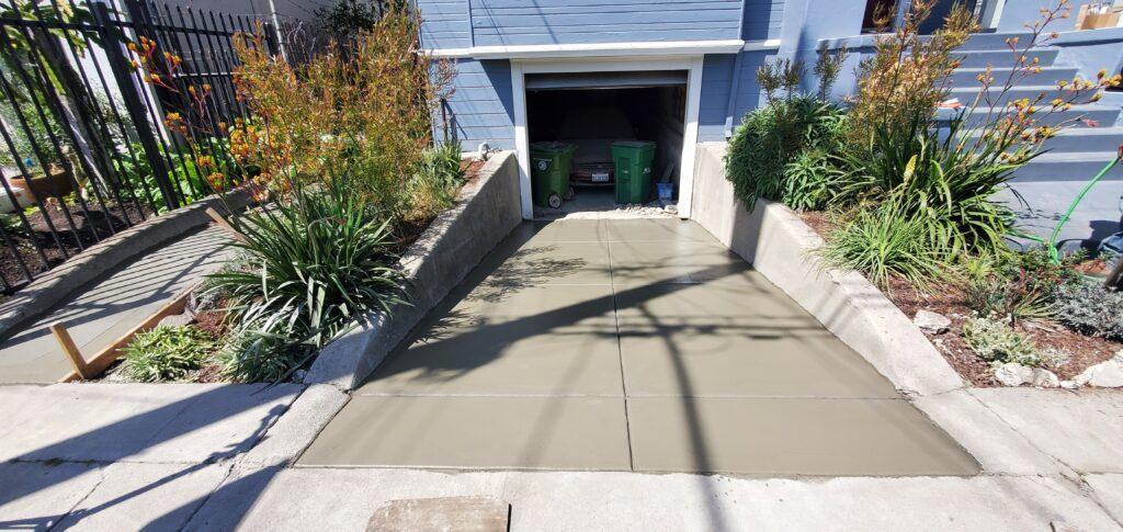 Concrete Broom Finish Oakland Ca
