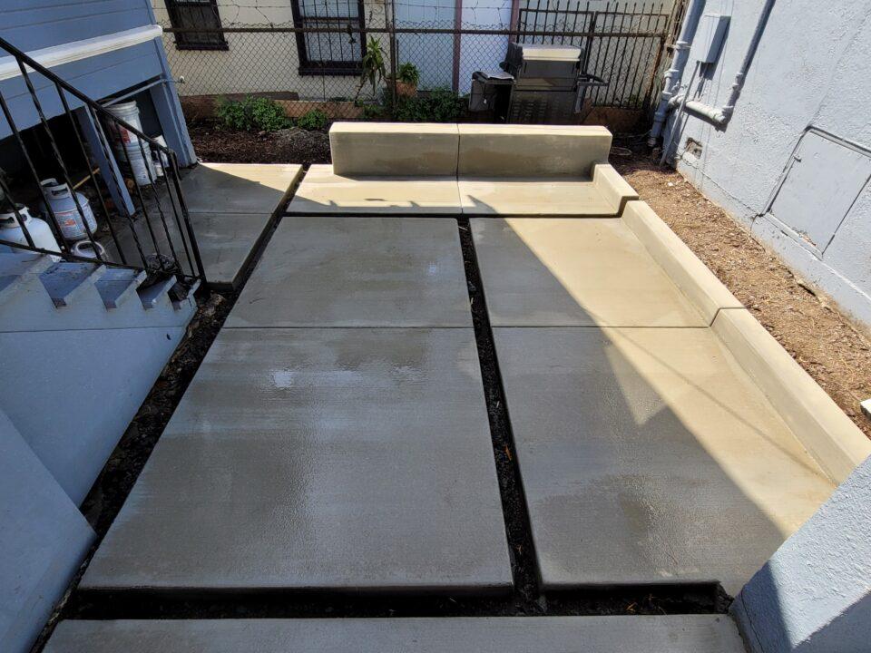 Modern concrete pavers oakland
