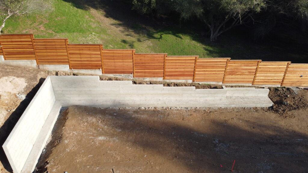 Fair Oaks retaining wall contractor
