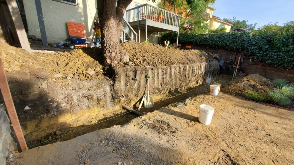 How To Excavate For A Concrete Retaining Wall Berkeley
