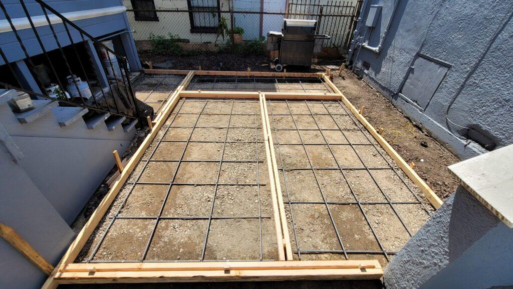 Emeryville Rebar for concrete pavers