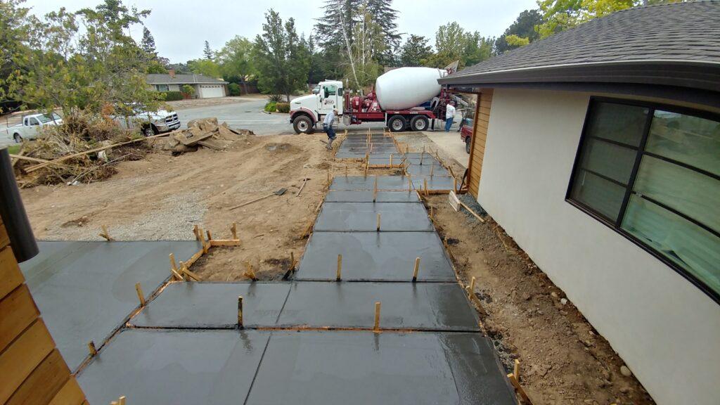 How to install concrete pavers san jose