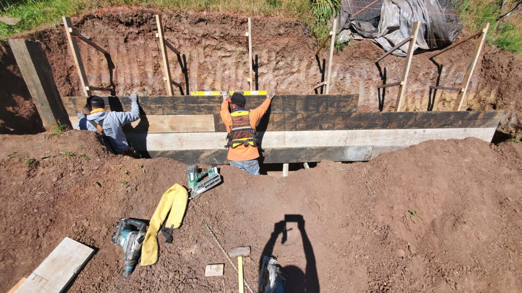 Belmont Concrete Wall