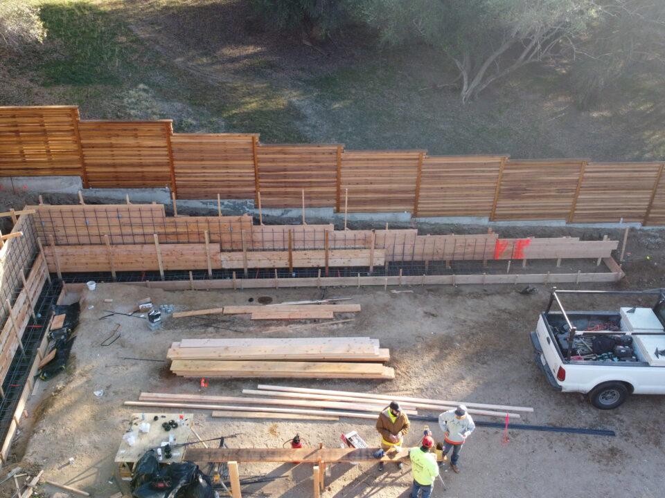 All Access Sacramento Retaining Wall