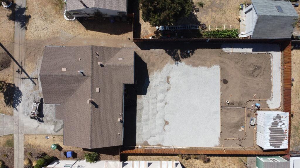 4. How to install concrete patio baserock