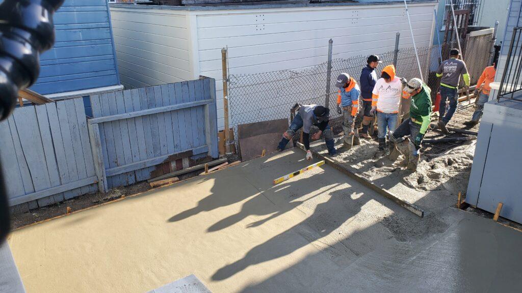 Oakland Concrete Contractor All Access 510-701-4400