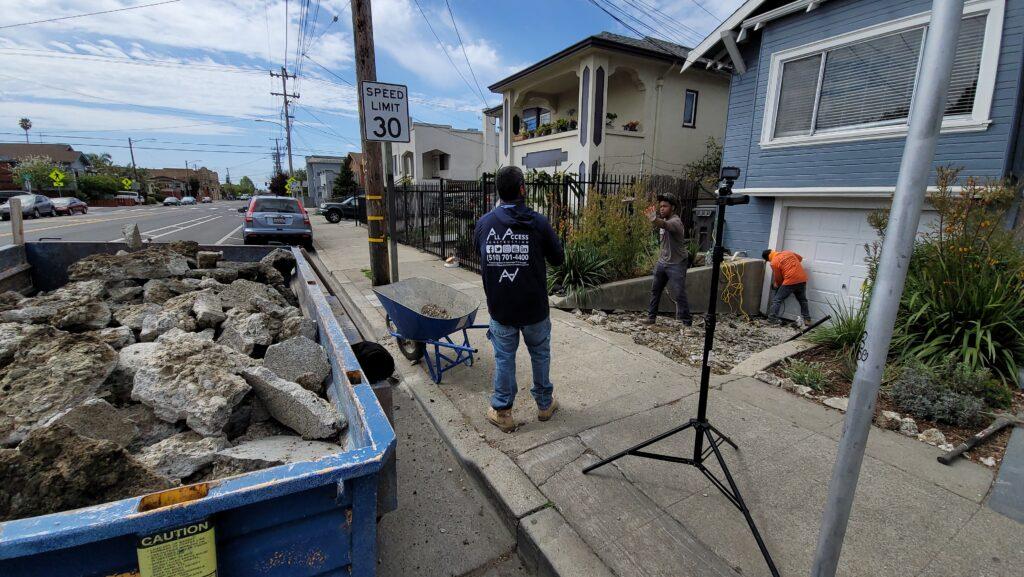 .Concrete Demo Oakland CA