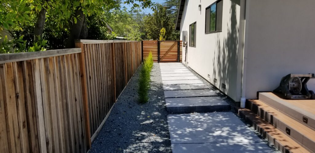 Modern concrete sidewalk ideals san jose