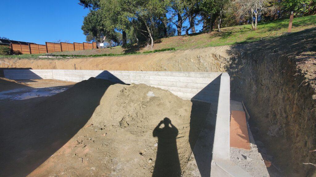 Retaining wall contractor near me orinda