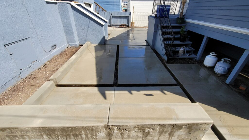 Modern concrete pavers emeryville