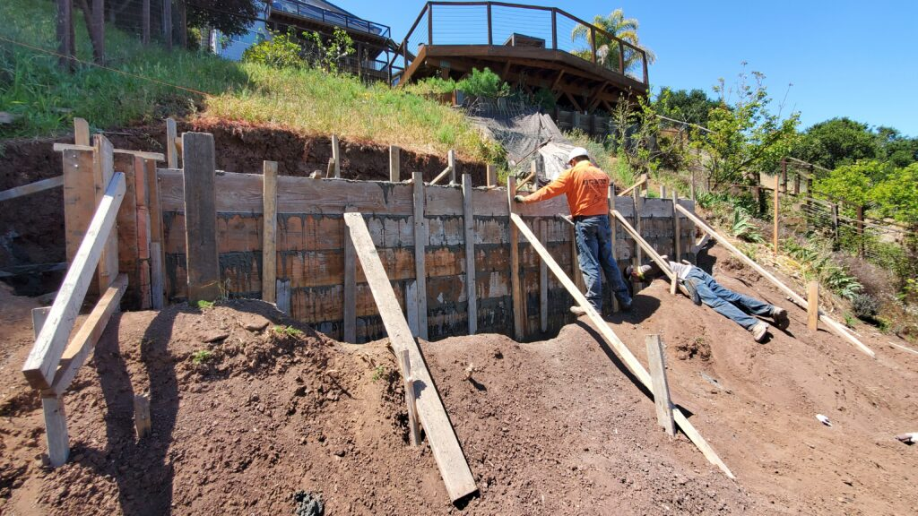 Retaining Wall Construction Belmont