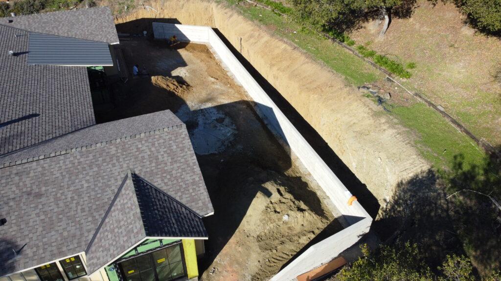 8. How to build a concrete retaining wall San francisco bay area