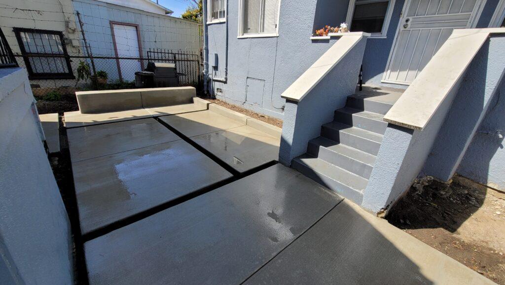Modern concrete pavers ideas emeryville