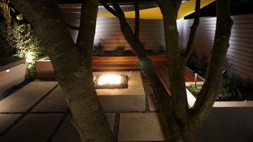 NightScence Modern Landscape Design San Francisco