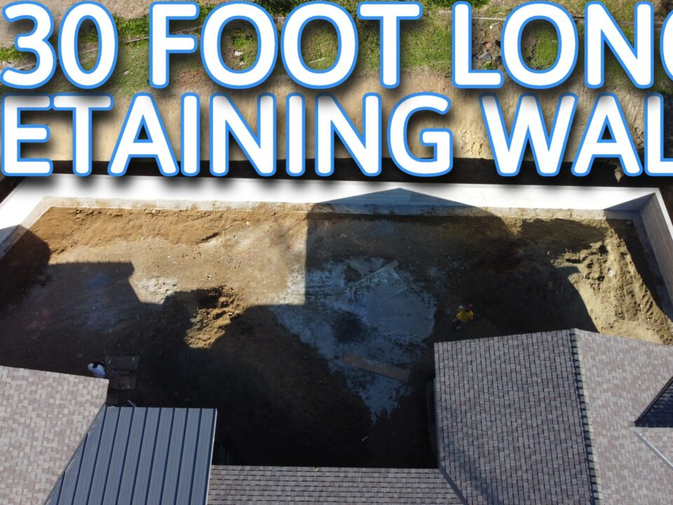 HOW TO BUILD A RETAINING WALL BAY AREA