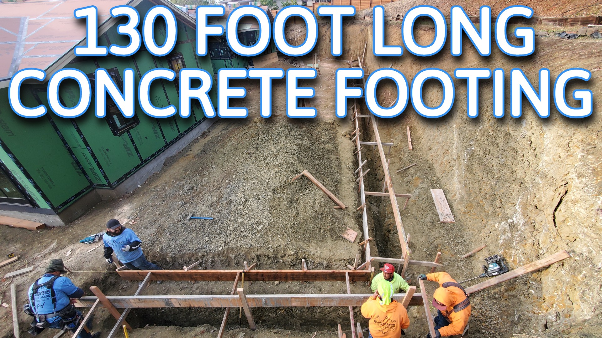 OW TO INSTALL CONCRETE FOOTING
