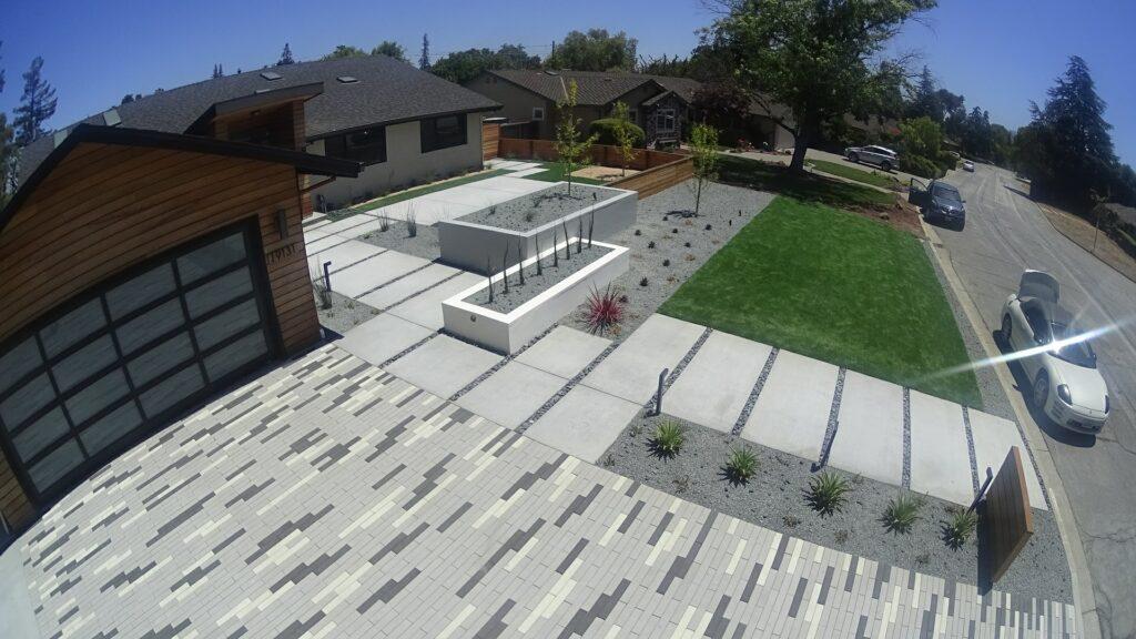 Concrete pavers driveway south bay