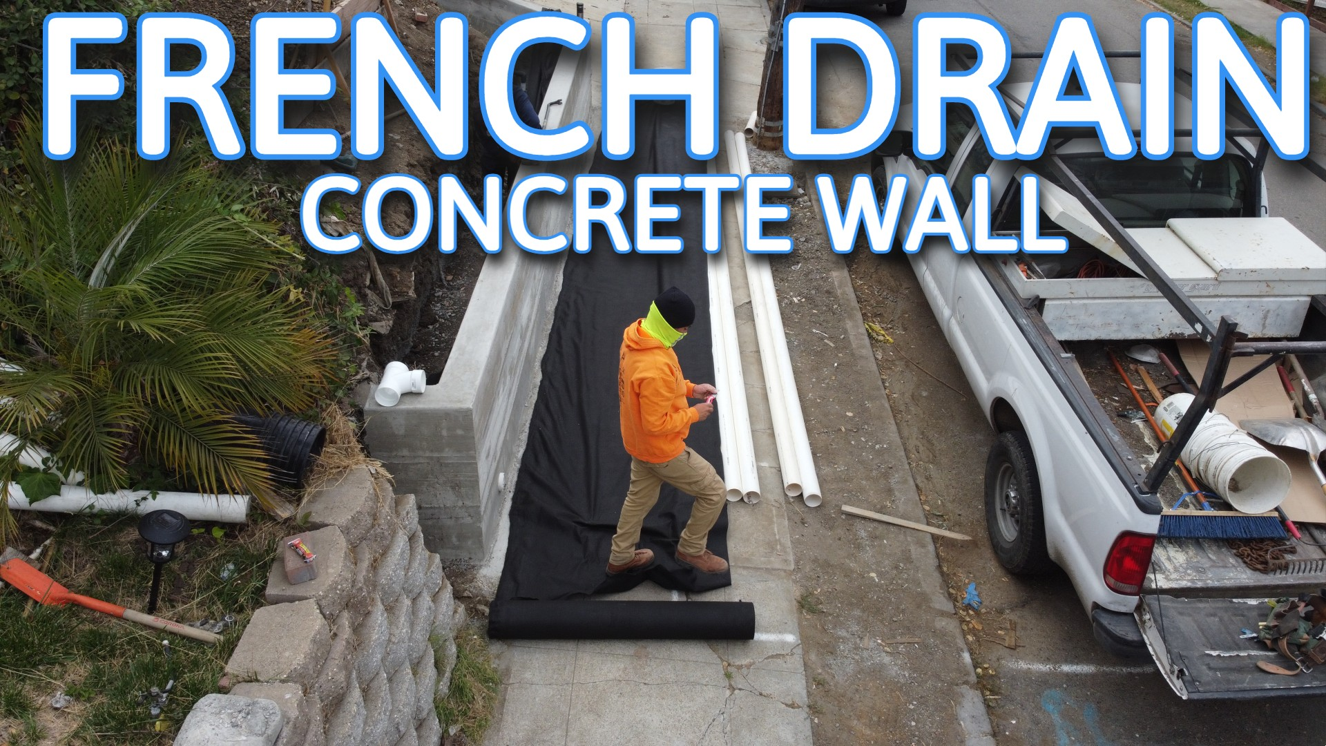 how to install french drain (1)