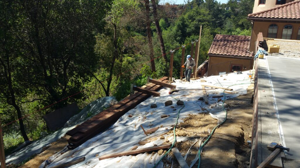 How to build a Ipe Deck Bay area