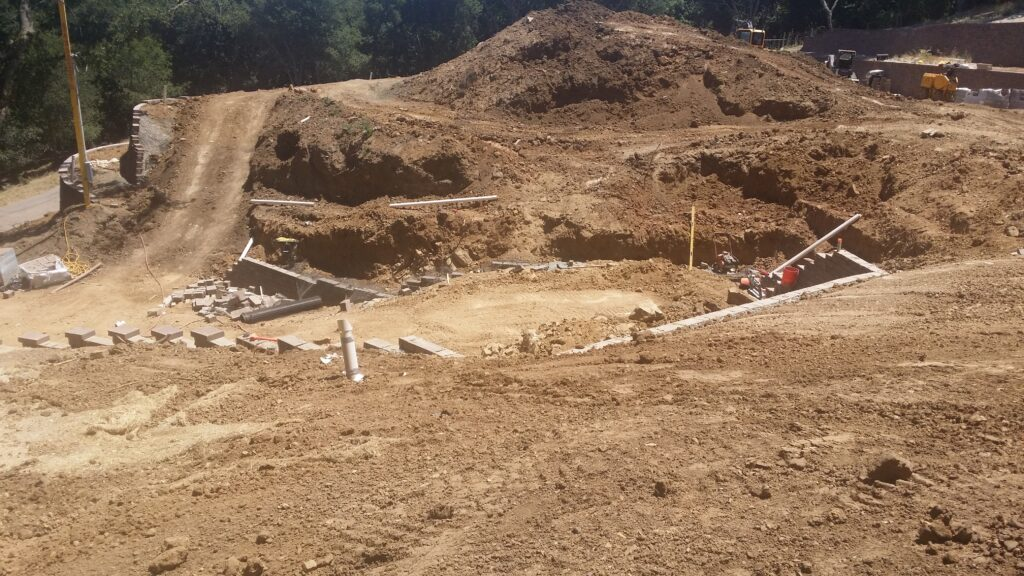 Retaining wall construction danville ... All Access