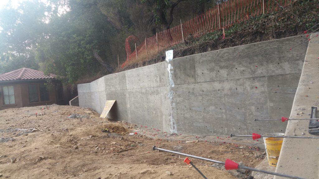 Bay Area Concrete Retaining Wall Contractor