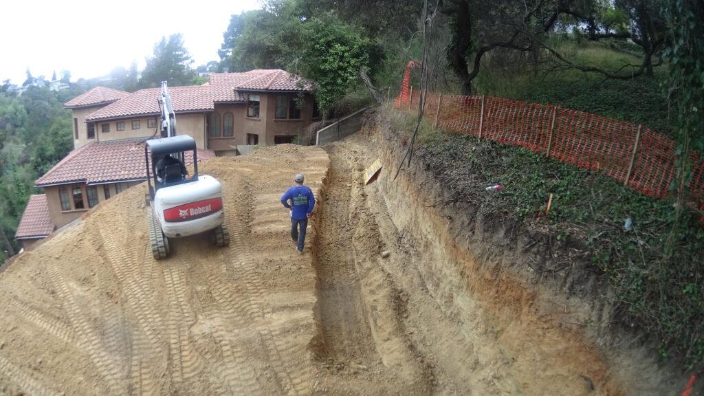Retaining Wall Excavation Berkeley