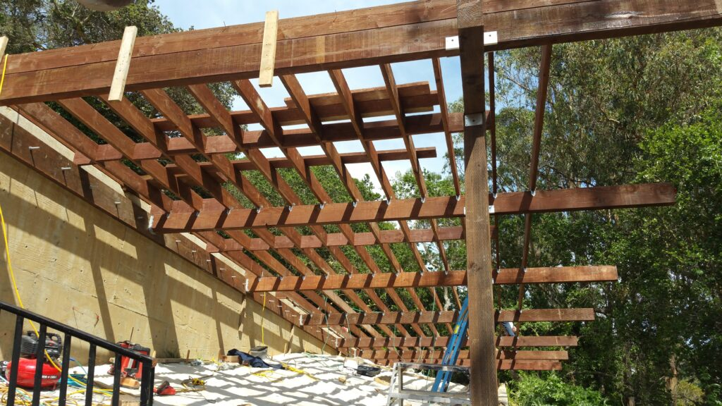 How to install Joists for deck San Francisco
