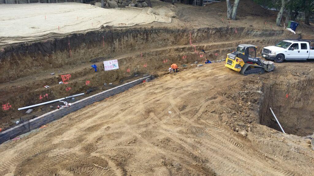 Belgard Block Wall Retaining Wall Bay Area