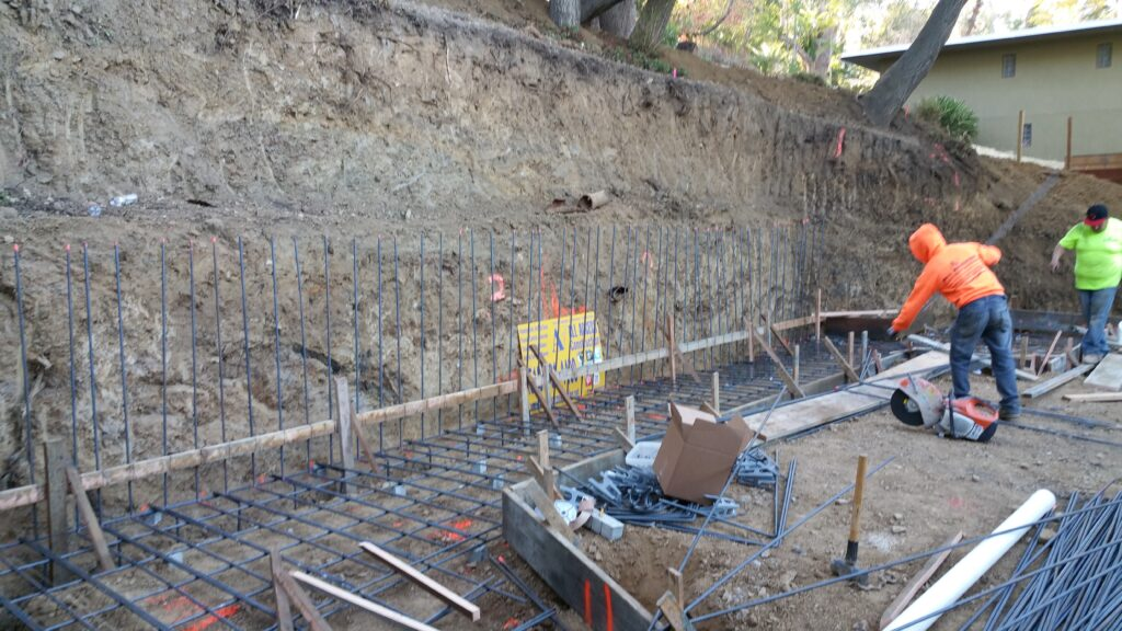 Retaining wall Design San francisco Bay area
