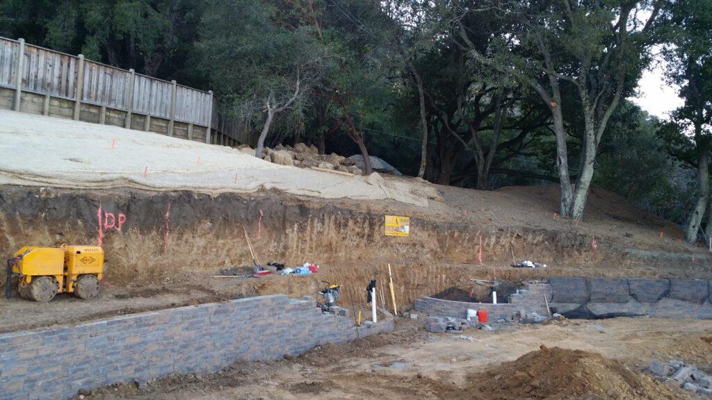 Belgard Celtick Retaining wall Construction