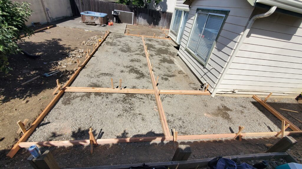 How much does a concrete patio cost bay area