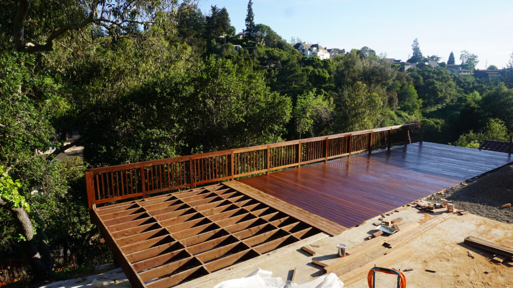 How to stain ipe deck bay area