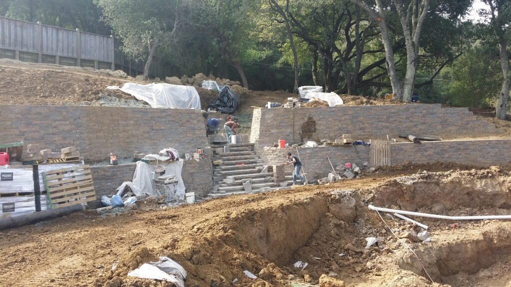 .How To Build Stairs out of Block Bay Area