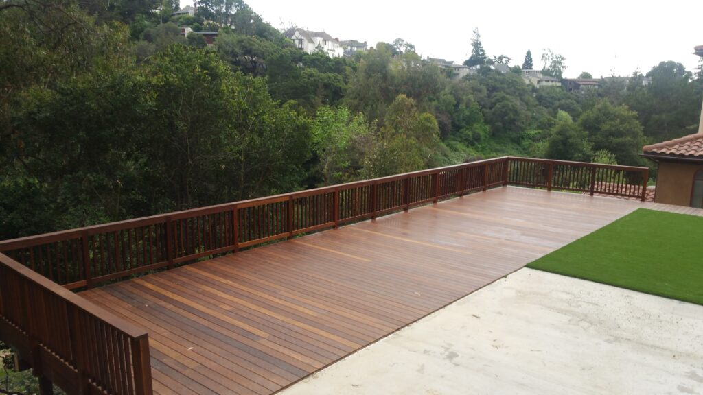How to install ipe deck san Francisco Bay area