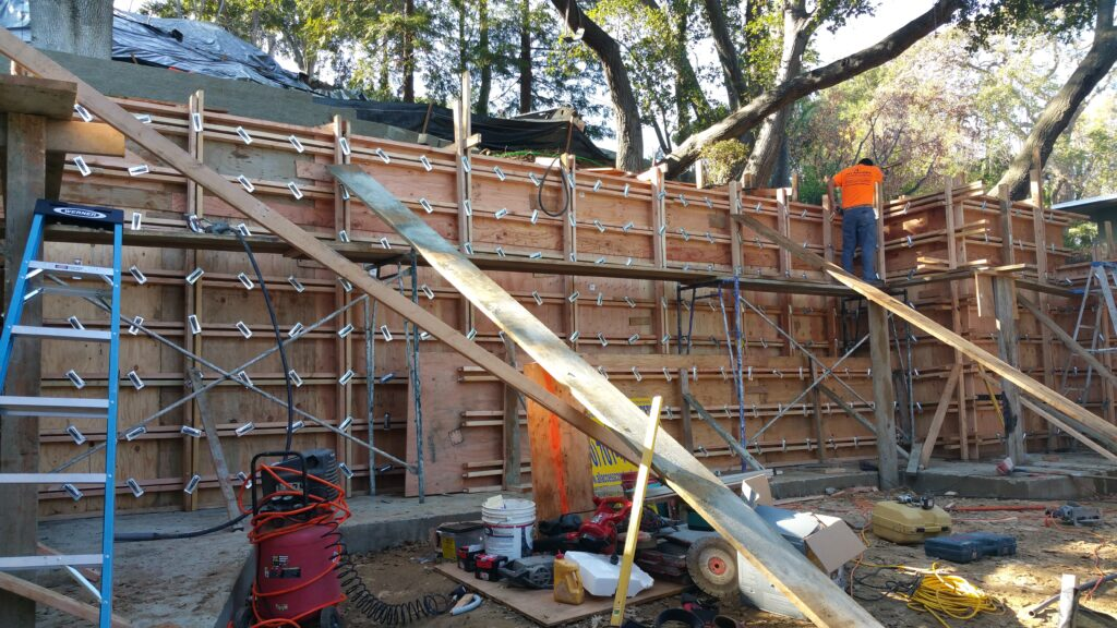 Concrete Form work San francisco Bay area