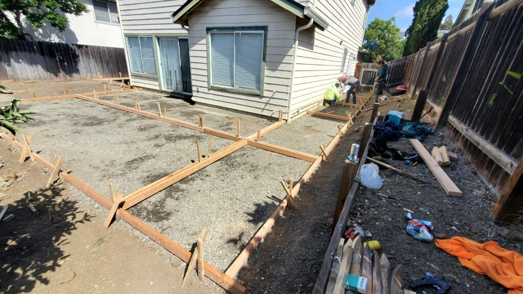 How much does a concrete patio cost vallejo