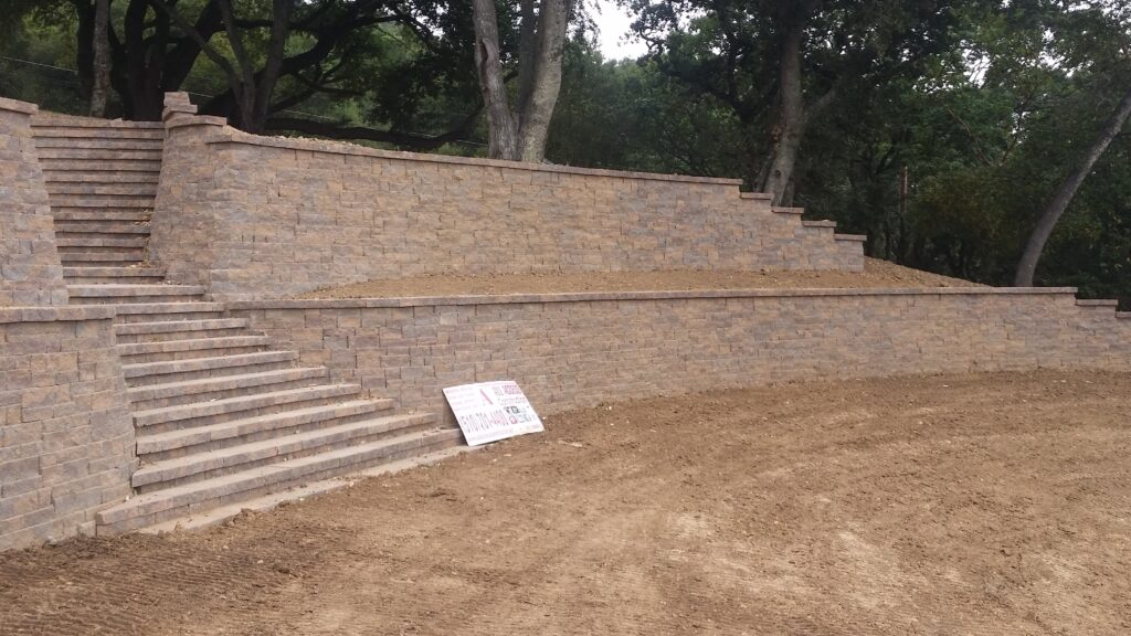 Belgard Block Wall