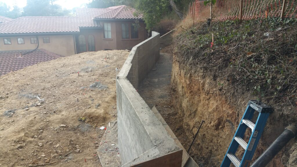 Cement Retaining Wall Oakland Ca All Access 510-701-4400