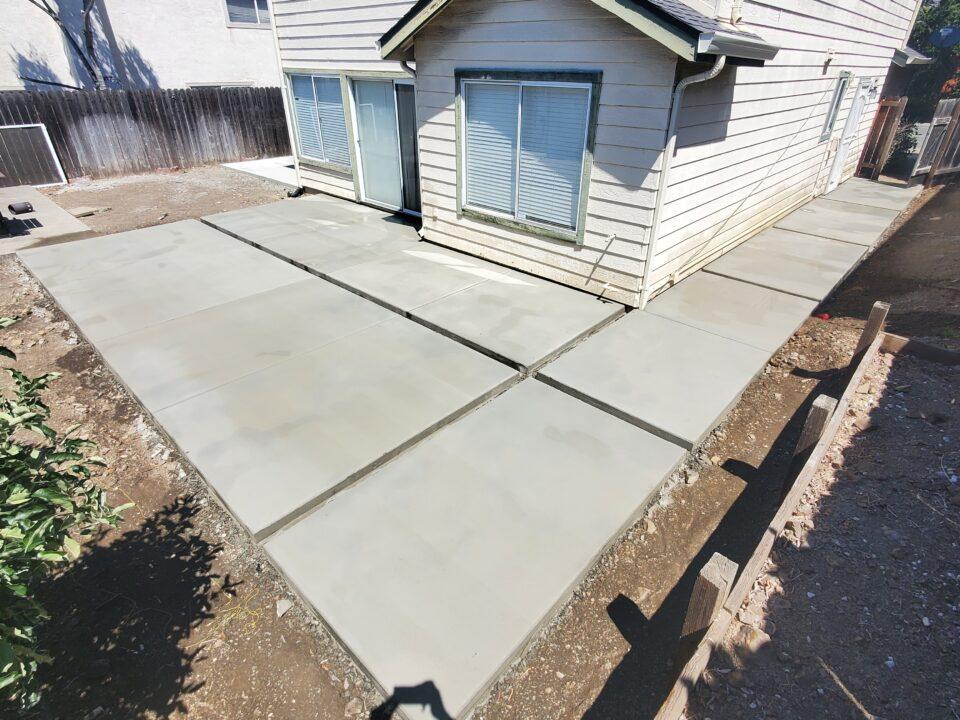 Modern concrete design bay area
