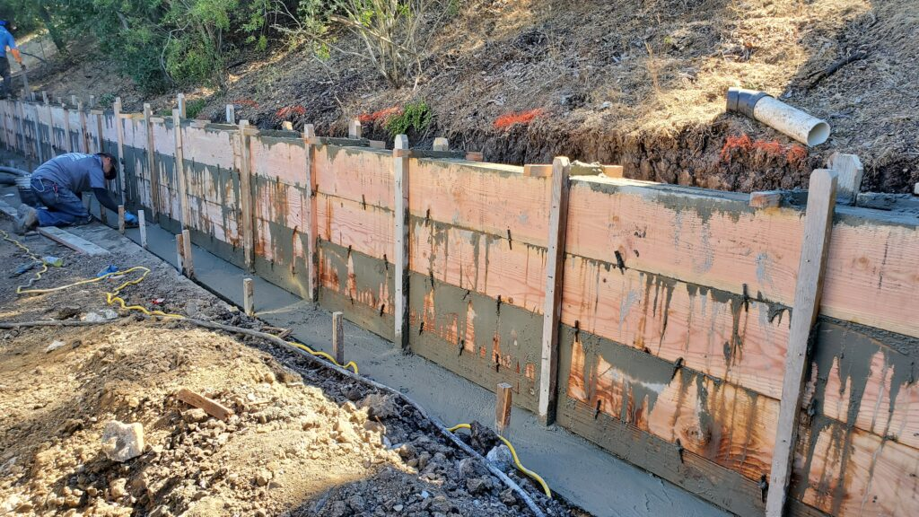 retaining wall construction Lafayette All Access