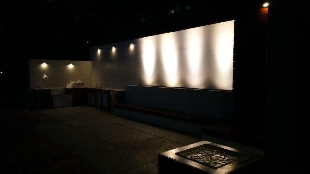 Low voltage Lights Retaining wall San francisco bay area