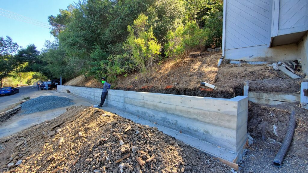 Retaining wall contractor Lafayette All Access 510-701-4400