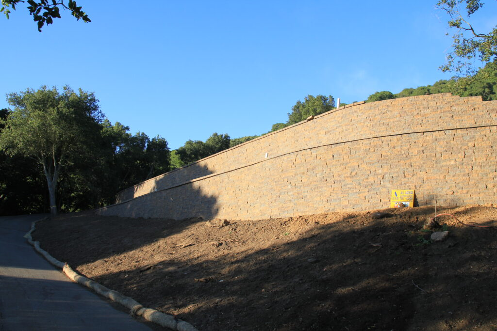 Retaining wall contractor south bay ... All Access