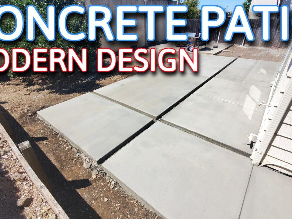 concrete modern design pavers