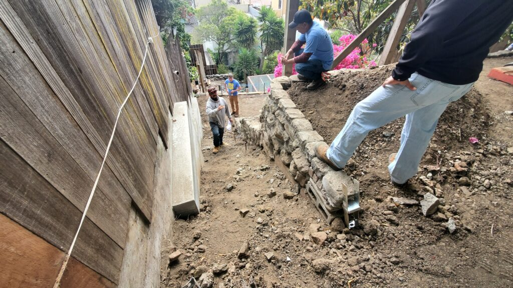 How to install concrete stairs San Francisco